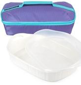 Corningware French White 3-Qt. Baker & Portable Bag