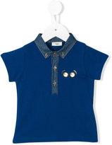Fendi piqué polo T-shirt - kids - Cotton - 6 mth