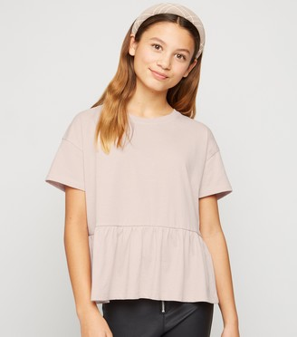 New Look Girls Peplum T-Shirt