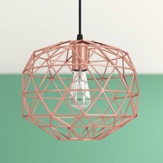 Profile 1 - Light Lantern Geometric Pendant Hashtag Home