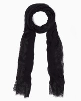 Charming charlie Snow Lace Scarf