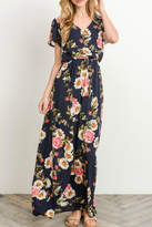 Gilli Long Floral Maxi-Dress