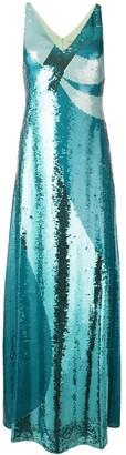 Emilio Pucci Sequin Evening Dress