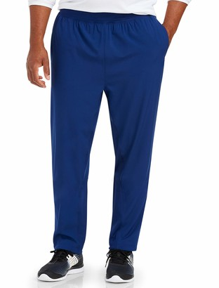 Amazon Essentials Men's Big & Tall Stretch Woven Training Pant fit by DXL