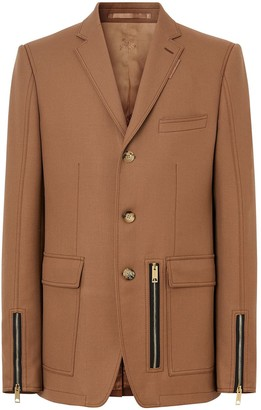 Burberry Zip Detail Jacket