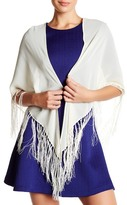 Cejon Fringed Square Wrap