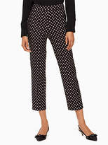 Kate Spade Diamond cigarette pant