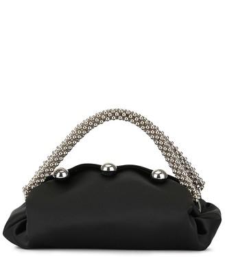 0711 Nino small satin top handle bag