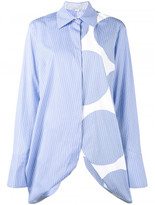 Stella McCartney Manuela multi-print shirt