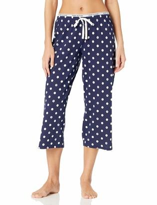 Tommy Hilfiger Women's Crop Pajama Pant Lounge Bottom Pj