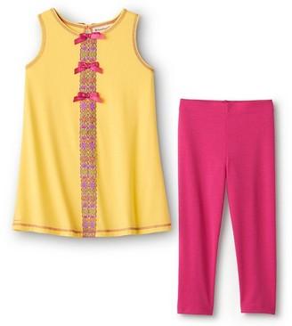 American Girl Flower Power Pajamas For Girls Xl-Q