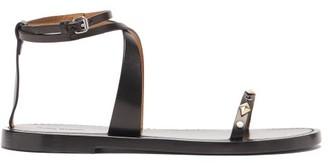 Isabel Marant Jothee Studded Wraparound Leather Sandals - Black