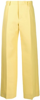 Lanvin Tailored Wide-Leg Trousers