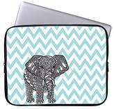 "TsuiWah Fashion Cute Cartoon Elephant Neoprene Laptop Soft Sleeve Case Bag Pouch Cover for 13"" Macbook Pro / Air HP Dell Acer"