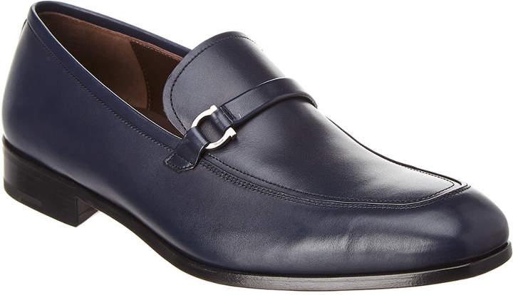 Salvatore Ferragamo Forbes Leather Loafer