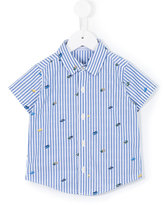 Familiar striped shortsleeved shirt - kids - Cotton - 2 yrs