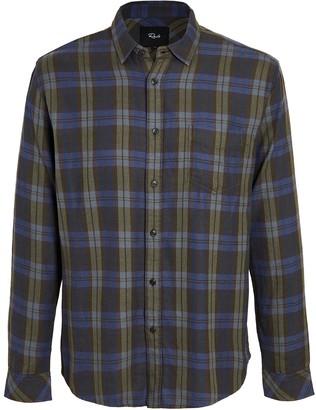Rails Lennox Plaid Button Down Shirt