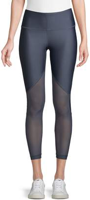 Under Armour HeatGear Armour Mesh Graphic Ankle Crop Leggings