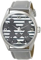 Ingersoll Women's IND25693 Mickey and Minnie Wrist Art Analog Display Quartz Grey Watch