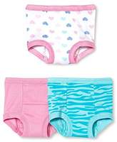 Gerber Little Girls' 3-Pack Training Pant - Hearts