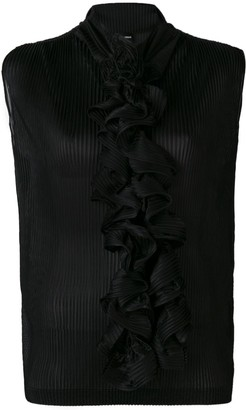 Giorgio Armani Ruffle-Embellished Blouse