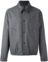 Ami Alexandre Mattiussi relaxed bomber jacket - men - Cotton/Polyamide/Polyester/Wool - S