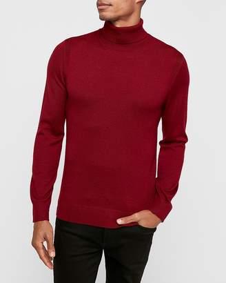 Express Merino Wool-Blend Thermal Regulating Turtleneck Sweater