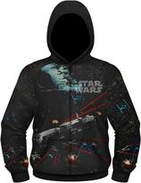 Old Glory Star Wars Space Battles 1 Men's Sublimated Zip Hoodie