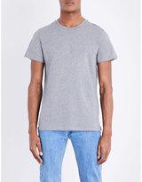 A.p.c. Jimmy Crewneck Cotton Jersey T-shirt