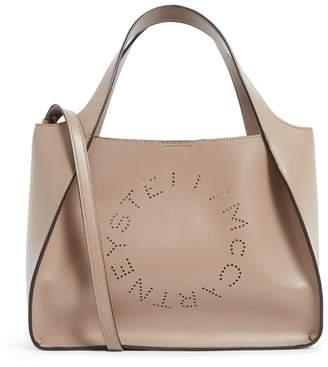 Stella McCartney Large Stella Logo Tote Bag