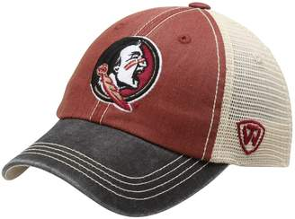 Top of the World Unbranded Youth Garnet Florida State Seminoles Offroad Trucker Snapback Hat