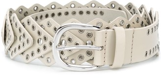 Isabel Marant Nowy stud-embellished belt