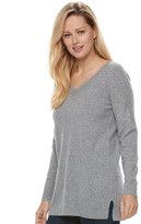 Apt. 9 Women's V-Neck Cashmere Sweater
