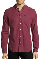 Superdry Button-Down Long-Sleeve Cotton Shirt