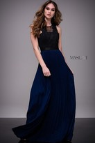 Jovani Two-Tone Sleeveless A-line Dress M608