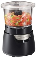 Hamilton Beach Stack and Press Food Chopper - Black 3 Cup- 72860