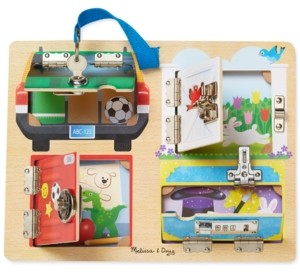 Melissa & Doug Kids' Locks & Latches Board