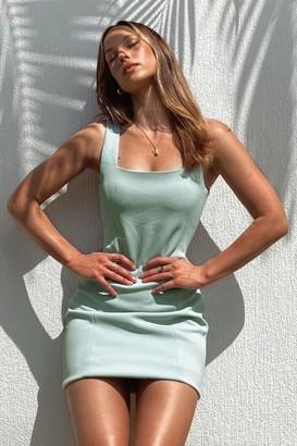 Supre Ivanna Wide Strap Ponte Dress