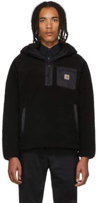 Carhartt Work In Progress Black Prentis Hooded Pullover