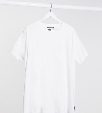 French Connection Plus Essentials t-shirt in white
