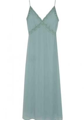Wild Pony - Green Polyester Lingerie Dress - m   polyester   green - Green/Green