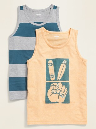 Old Navy Relaxed Pocket Tank Top 2-Pack for Boys