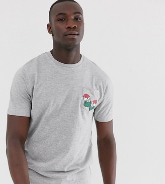 Brave Soul Tall sprout pocket detail t-shirt
