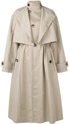 Bottega Veneta oversized trench coat
