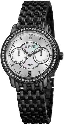 August Steiner Women's Diamond Dial Watch