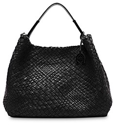 Etienne Aigner Eitenne Aigner Irena Woven Leather Hobo