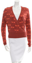 Sophie Theallet Silk Wrap Cardigan w/ Tags