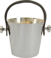 Barneys New York Leather Handle Ice Pail