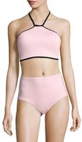 Kate Spade High Neck Bikini Top