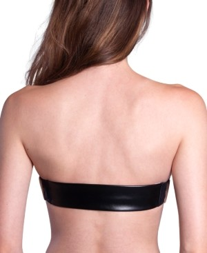 "THE BRA LAB Prague Vegan Leather"" Multiway, Interchangeable Back Strap"